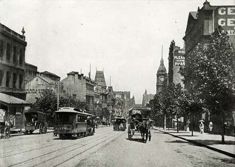 Photo of 1890s Melbourne